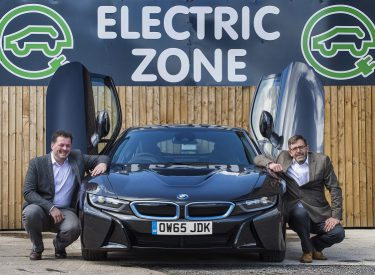 Autohorn Fleet Services celebrates Go Ultra Low Company status with BMW i8 supercar